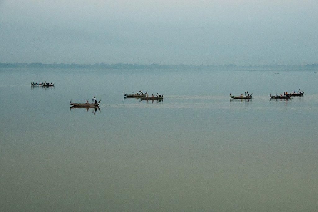 Miriam Reik Photographer - Taungthaman lake Burma